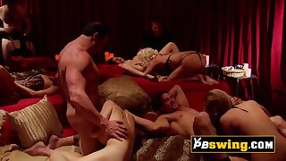 swinger female hook up sexually in an erotic adventure in an open swing house new episodes now