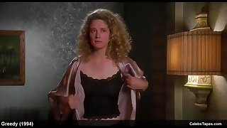 nancy travis & olivia d'abo sexy and bikini movie scenes