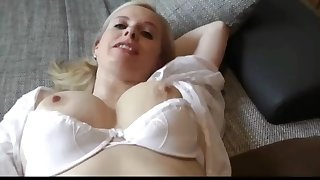 sexy busty mature milf seduces young postman