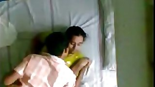 Indian Kerala aunty and husbands younger bro hidden camera